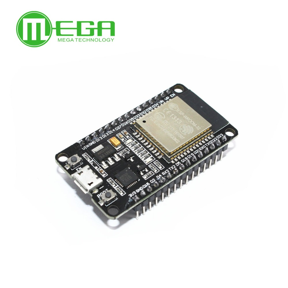 <font><b>10pcs</b></font> ESP-32 ESP-32S Development Board WiFi Bluetooth Ultra-Low Power Consumption Dual Cores <font><b>ESP32</b></font> Board image