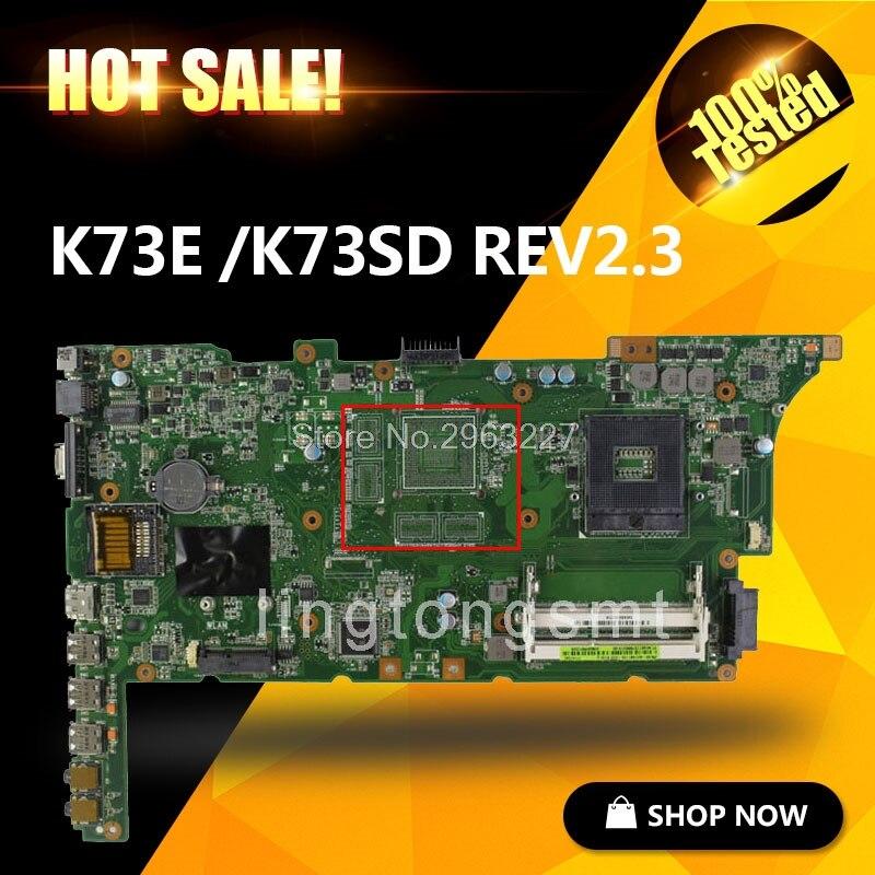 K73E płyta główna REV2.3 HM65 dla ASUS K73E X73E K73SD laptopa płyty głównej płyta główna w K73E płyty głównej płyta główna K73E test płyta w 100% OK w Płyty główne od Komputer i biuro na AliExpress - 11.11_Double 11Singles' Day 1