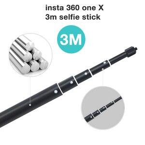 Image 1 - Удлинитель Insta360 one X 3 м удлинитель палка для селфи алюминиевый сплав для Insta 360 One X монопод панорамные аксессуары для камеры