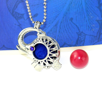 Bo Bo world20MM Copper  Harmony Ball Chime Sound Mexican Bola Floating Locket Baby Caller Mother Child Necklace Gift A9 locket