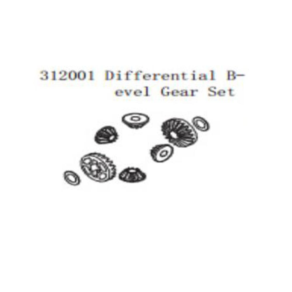 цена на Differential bevel gear set for 1/5 scale FS racing/REELY RC car GAS PARTS