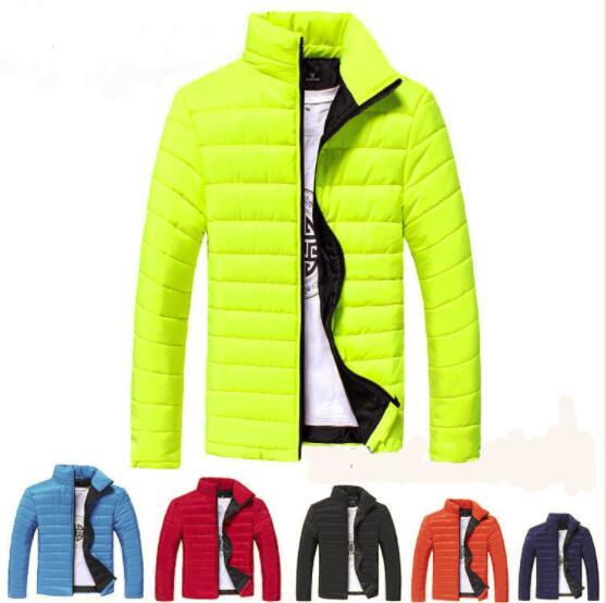 Men's   down   jacket New Winter parkas   Down     Coat   Men Duck   Down   Jacket   Coats   Men Fashi onable stand Thin Warm White Duck   Down   Jacket