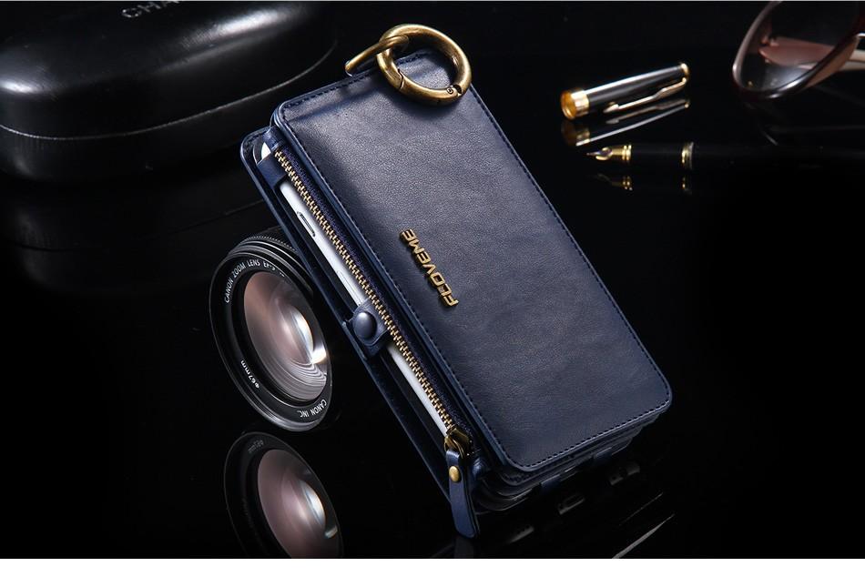Floveme oryginalny retro skóra telefon case for iphone 6s 6 4.7 dla iphone6s iphone 6s przypadki metalowy pierścień coque pokrowce na iphone 7 15