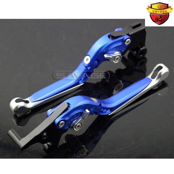 For YAMAHA MT-25 MT-03 YZF-R3 YZF-R25 2014 2015 2016 Blue Motorcycle Adjustable Folding Extendable Brake Clutch Lever for yamaha mt 03 2015 2016 mt 25 2015 2016 mobile phone navigation bracket