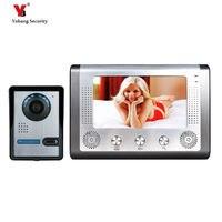 Yobang Freeship 7 polegada de Segurança vídeo porteiro vídeo porteiro sistema de intercomunicação de voz do monitor ao ar livre à prova d' água com