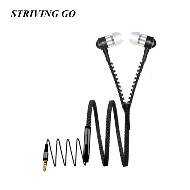 Metal Earphones 3.5mm In-Ear Stereo Headset Music Sport Earbuds With Mic for MP3 iPhone Xiaomi VS Bluetooth earphones S6 S8