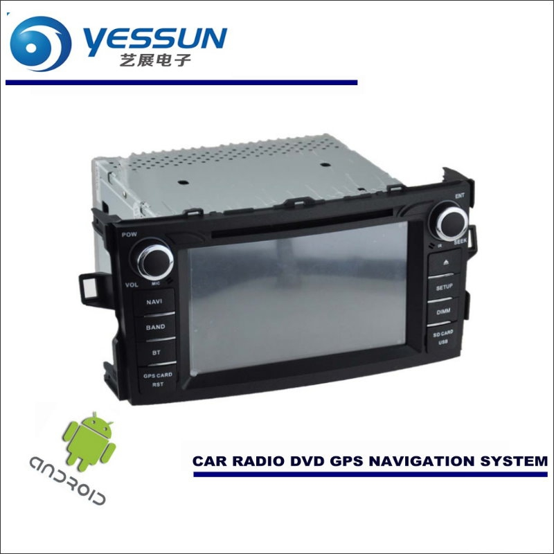 YESSUN Car Android Navigation System For Toyota Corolla Hatchback / Auris Radio Stereo CD DVD Player GPS Navi Screen Multimedia yessun for mazda cx 5 2017 2018 android car navigation gps hd touch screen audio video radio stereo multimedia player no cd dvd