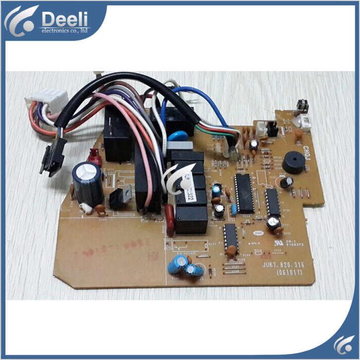 95% new good working for air conditioning motherboard Computer board JUK6.672.922 JUK7.820.316 board good working