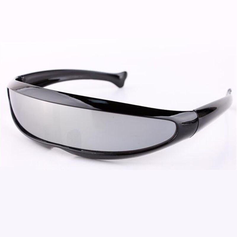 85d532df4d9e Aliexpress.com   Buy RILIXES Men s Sunglasses X Men Personality Laser  Glasses Cool Robots Sun Glasses Driving Sunglass Goggles free bag from  Reliable sun ...
