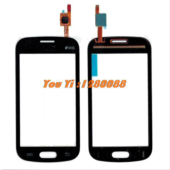 Free Shipping For Samsung Galaxy Trend Lite GT-S7390 S7392 Touch Screen Digitizer S7390 - Black