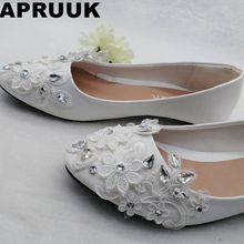 aafba9df90 Buy cute flat wedding shoes and get free shipping on AliExpress.com