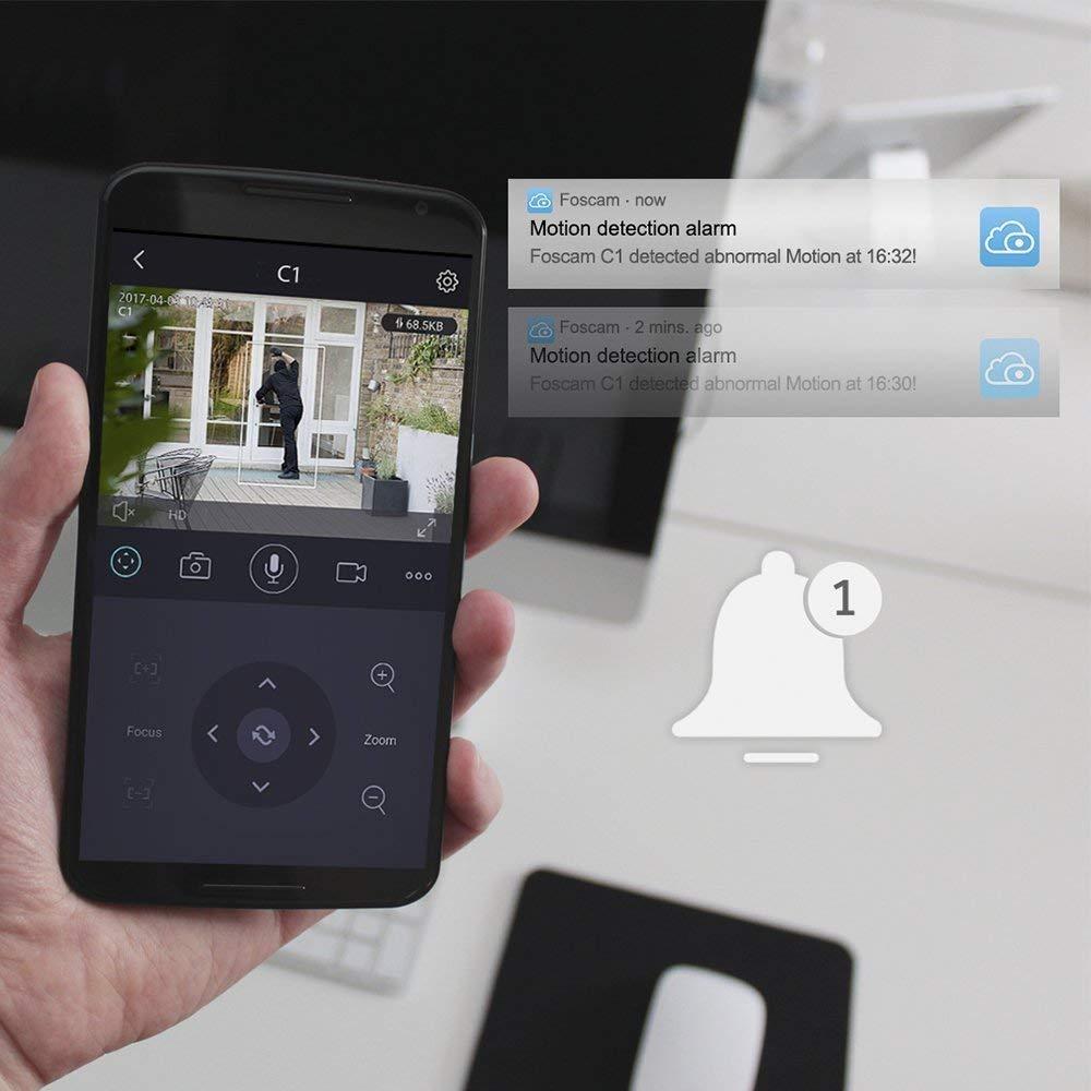 Image 5 - Foscam FI9816P Plug and Play 720P HD H.264 беспроводная ip камера с функцией панорамирования и наклона с функцией ночного видения 8 м-in Камеры видеонаблюдения from Безопасность и защита