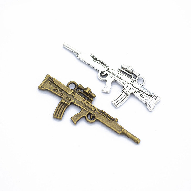 1pcs Charm Sniper Rifle Vintage Gun Charms Pendant For Jewelry Making Antique Bronze Color Sniper Rifle Charms 116mm Buy One Get One Free Jewelry & Accessories Jewelry Sets & More