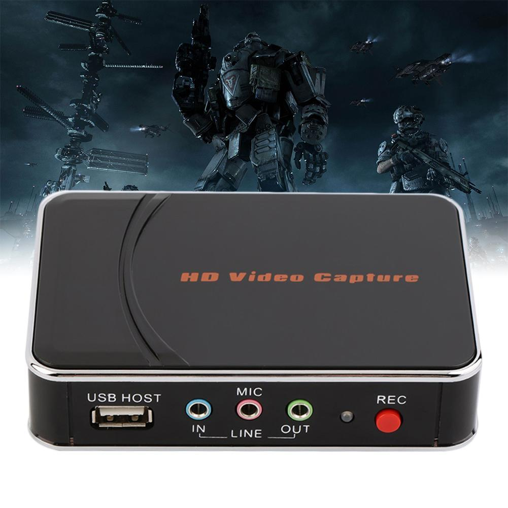 HD Video Game Capture 1080P HD / YPbPr Recorder into USB Disk For XBOX One/360 PS3 PS4 DVD Player nyx professional makeup жидкая губная помада lip lingerie exotic 12