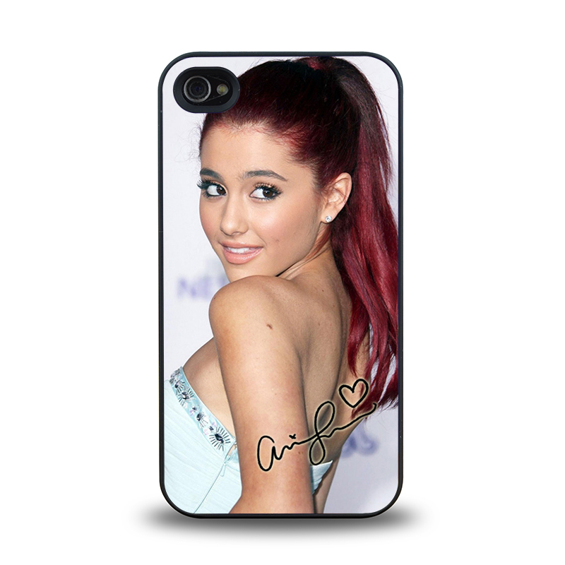 Pop Star Ariana Grande beautiful design16 mobile phone battery case cover for iphone 4 4s cases
