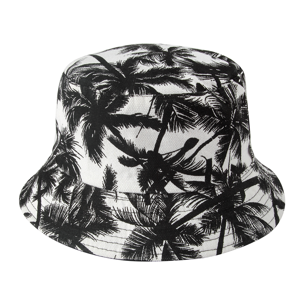 bb6d11014ad Winfox 2018 Fashion Summer Reversible Black Floral Flower Bucket Hats Caps Gorro  Pescador Fisherman Hats For Mens Womens USD 7.14 piece