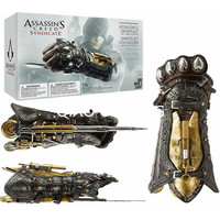 Anime Assassin's Creed Syndicate COSPLAY Sleeve Sword Gloves Wristbands With Sleeve 1:1 PVC Action Figure Model Toy G375