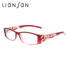 LianSan 2017 New Vintage Anti-reflective Lightweight Reading Glasses Women Luxury Brand Designer Fashion L3711