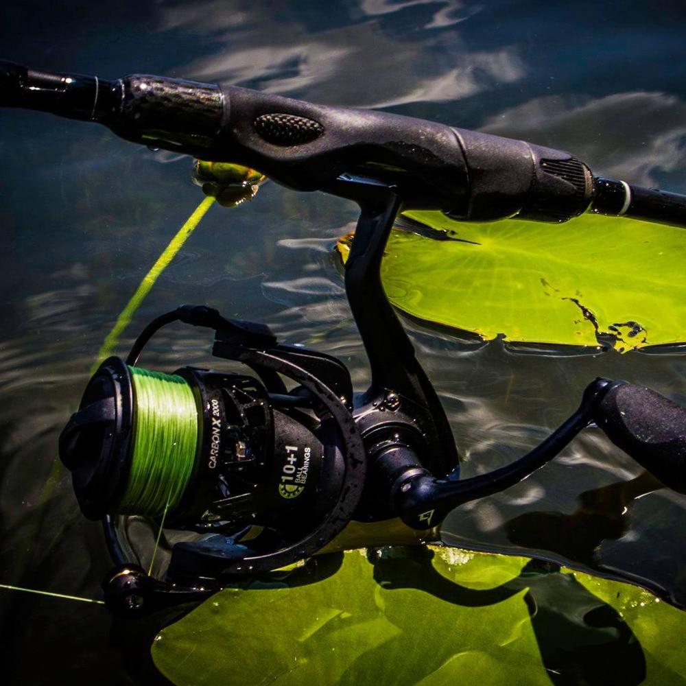 carbono rotor 11 blindado bb carretel de pesca de água salgada
