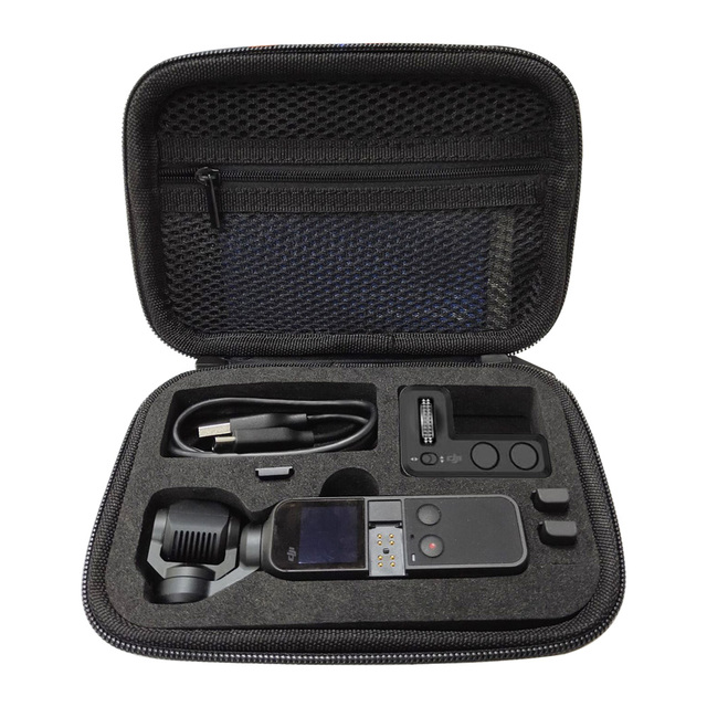 Mini Carrying Case Bag for DJI Osmo Pocket/Pocket 2 Handheld Gimbal Camera Protective Case Portable Box Accessory Spare Parts