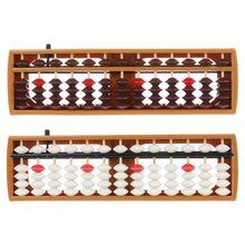 Portable Japanese 13 Digits Column Abacus Arithmetic Soroban Caculating School Math Learning Tool цены