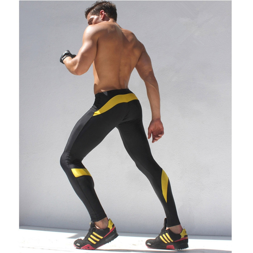 2018 New Men And Women Gyms Fitness Muscle Mens Pants Tight Waist Jogger Pants High Quality Casual Thin Section Men's Sportswear