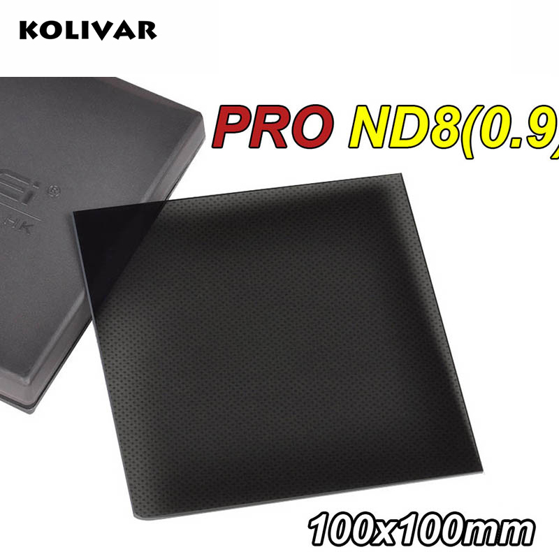 KOLIVAR Zomei Square Filter ND8 PRO Optical Glass 100x100 3-stop ND 0.9 ND Filter for Cokin Z Series Lee Hitech Singh-Ray Holder arijit singh wembley