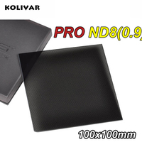 Zomei 100mm Square Filter ND8 Pro Optical Glass 100x100mm 3 stop ND0.9 ND Filter for Cokin Z PRO Series Lee Hitech Singh Ray