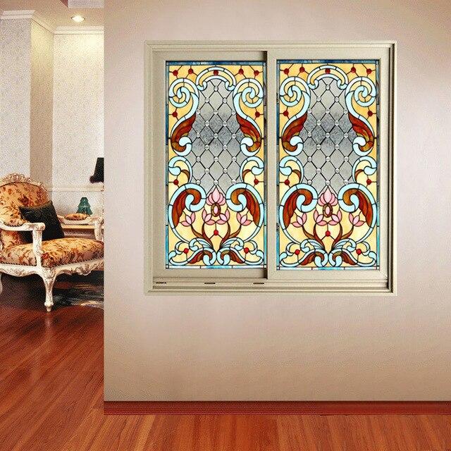 Custom Made Wood Windows Art Glass Interior Doors Kitchen Door Balcony Partition Sliding