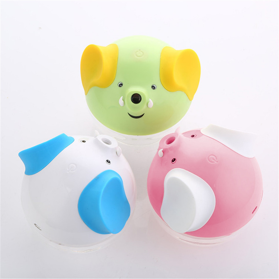 USB Mini Night Light Humidifier Lucky Elephant Style Cartoon Humidifier Essential Oil Diffuser Fragrance Humidifier for Home