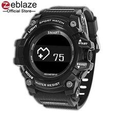 Новый zeblaze мышцы HR спортивные SmartWatch IP67 Водонепроницаемый Носимых устройств сердечного ритма Мониторы Bluetooth Смарт часы для Android IOS