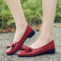 Spring and autumn new women's fashion shoes elderly mother shoes women soft bottom single large size flat shoes, free shipping