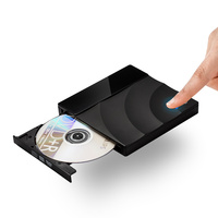 USB Optical Drive External USB 3.0 CD/DVD ROM Combo RW ROM Burner for Dell Lenovo HP Laptop for Mac OS/Windows7/10 USB DVD Drive
