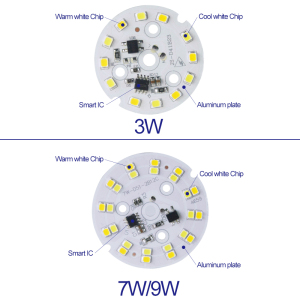 Image 2 - Hot Sale LED Module AC 220V 230V 240V 3W 7W 9W SMD 2835 LED Light Replace Led Bulb Light Lighting Source Convenient Installation