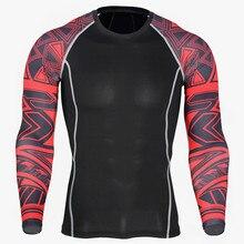 Новая футболка для бега Спортивная быстросохнущая одежда эластичная спортивная одежда