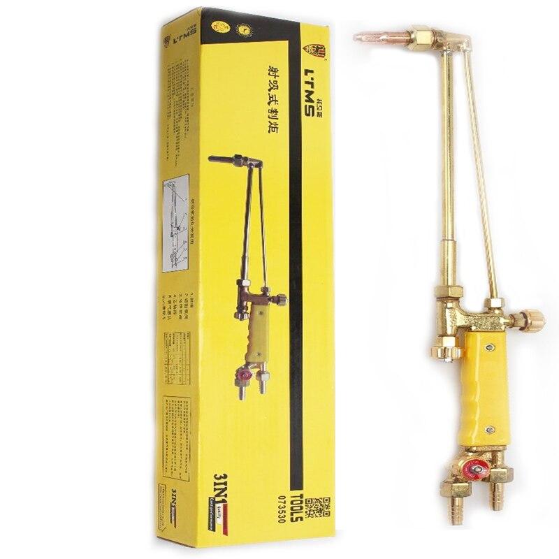 цена на Oxygen Welding Brass Gas Repair Air Conditioning Acetylene Lengthened Cutter Gun Type 100 Cutting Torch