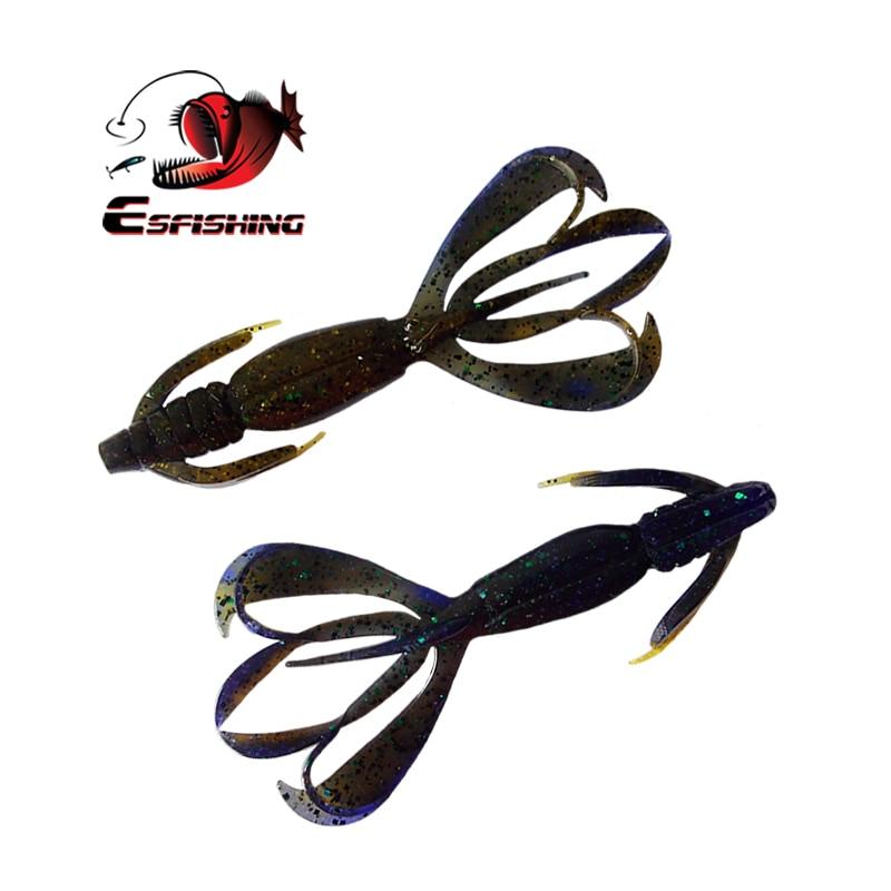 Esfishing Pesca Silicone Bait 5pcs Fishing Lure Soft Lures 11cm 11.4g Crazy Flapper Swimbait Carp Fishing Tackles Bass Bait все цены