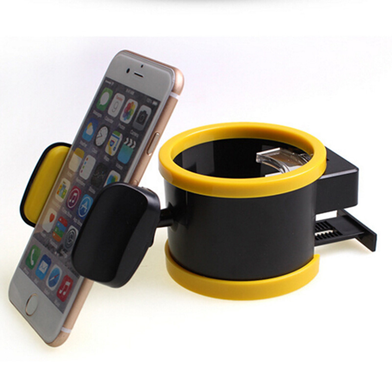 Universal Car Phone Holder Car Multi - Use Mobile Phone Racks Cups Air - Conditioning Outlet Phone Stand Mobile Car Phone Stand