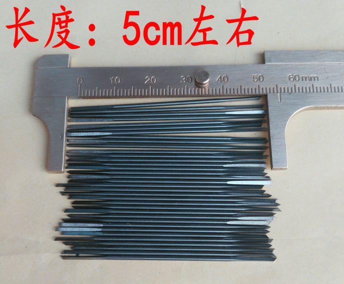 14pcs 0.7-1.5mm Center Drill Bits Double Head Jade Pearl Drilling Bit Tungsten Steel Drill Bit Triangular Bit Punch Drill Needle