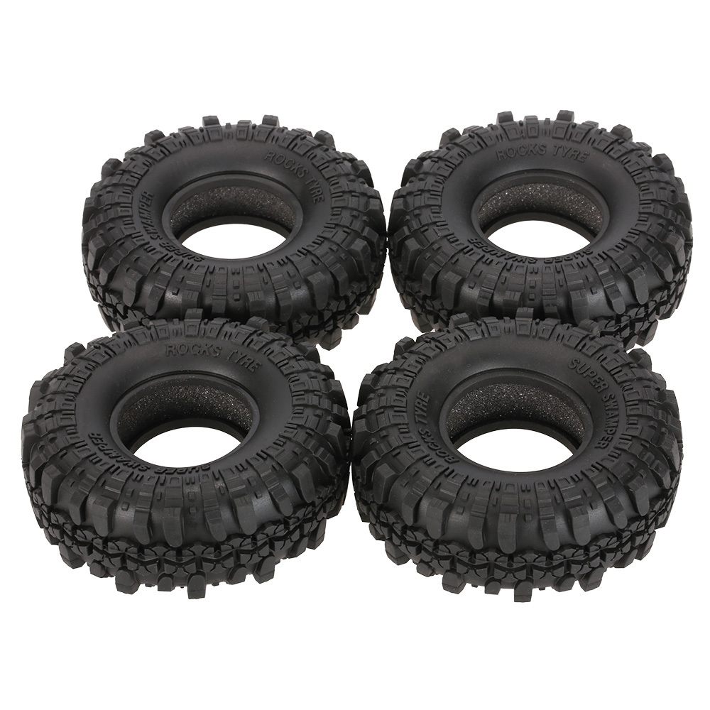 4Pcs AUSTAR AX-4020 1.9 Inch 110mm 1/10 Rock Crawler Tires for D90 SCX10 AXIAL RC4WD TF2 RC Car4Pcs AUSTAR AX-4020 1.9 Inch 110mm 1/10 Rock Crawler Tires for D90 SCX10 AXIAL RC4WD TF2 RC Car