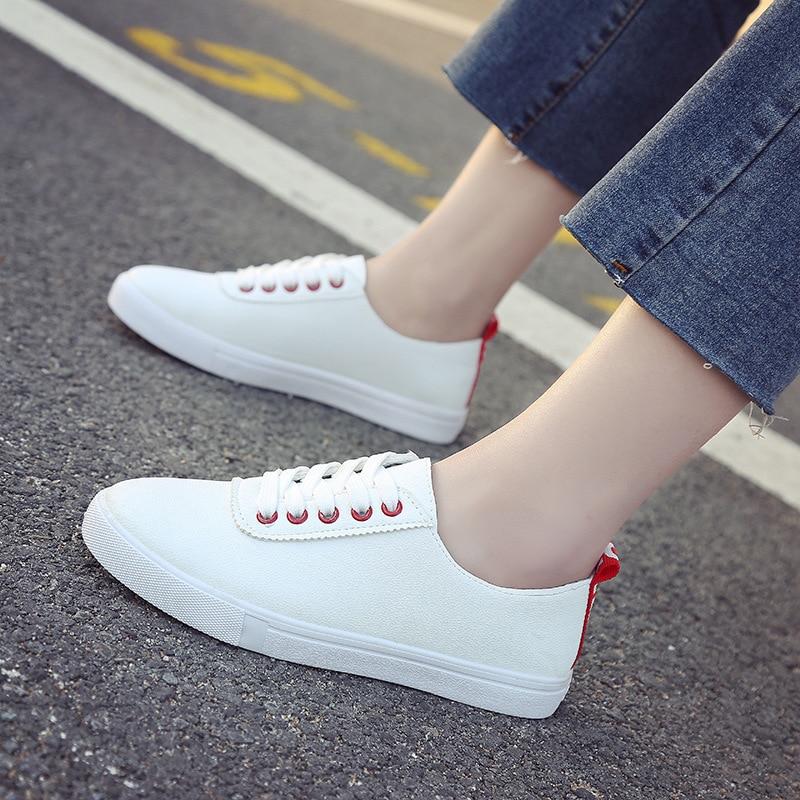MFU22 Venta caliente aburridos shs rnd cal zapatos blancos S2T-01