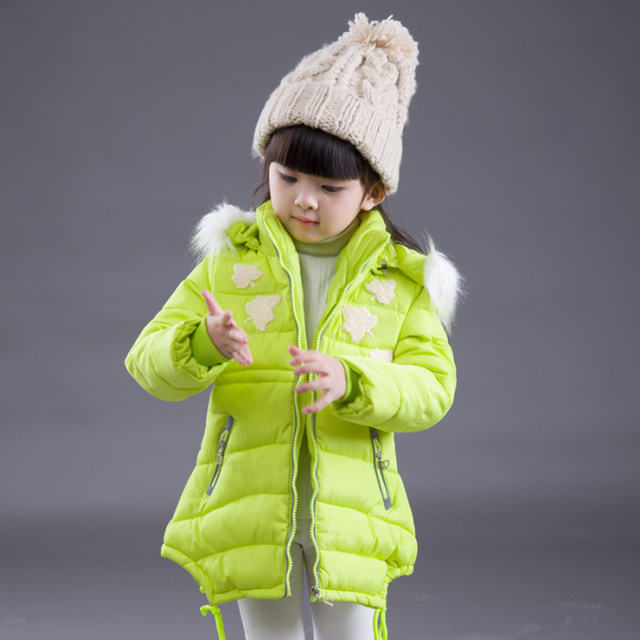 014ef2105013 2016 autumn and winter child down wadded jacket girls child small ...