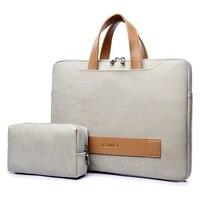 Водонепроницаемый PU кожаная сумка для ноутбука, чехол Повседневная сумка для ноутбука для женщин 13,3 13 14 15 15,6 дюймов для Macbook pro case для мужчин ...