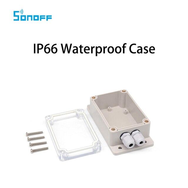 Sonoff IP66 caso de la cubierta impermeable para Sonoff Básicos/RF/doble/Pow/TH16/G1 de casa inteligente
