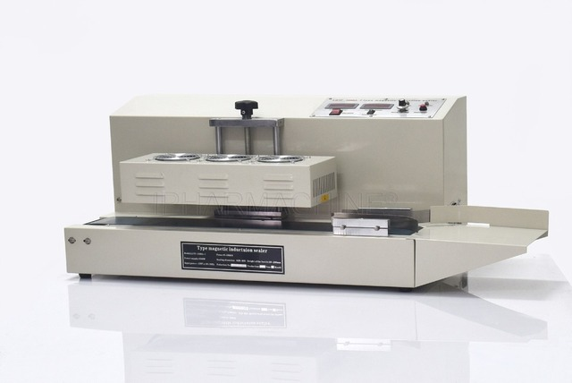 Fully automatic electromagnetic induction sealing machine for different size of bottle (220V/50HZ)