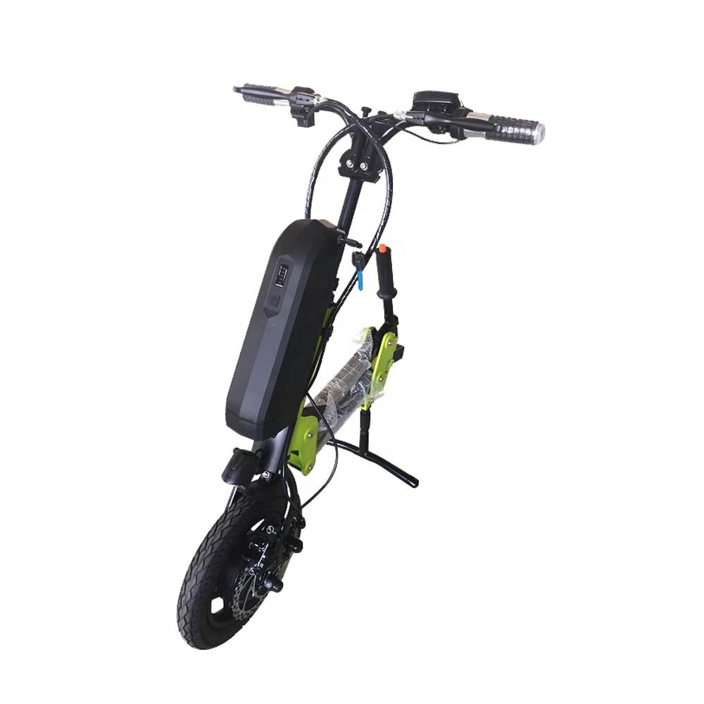 Cadeiras de Rodas Cadeira de Rodas a Motor de Conversão Envio da Tarifa Frente Drive Polegada Função Bicicleta Elétrica Handcycle Livre 36v250w 12