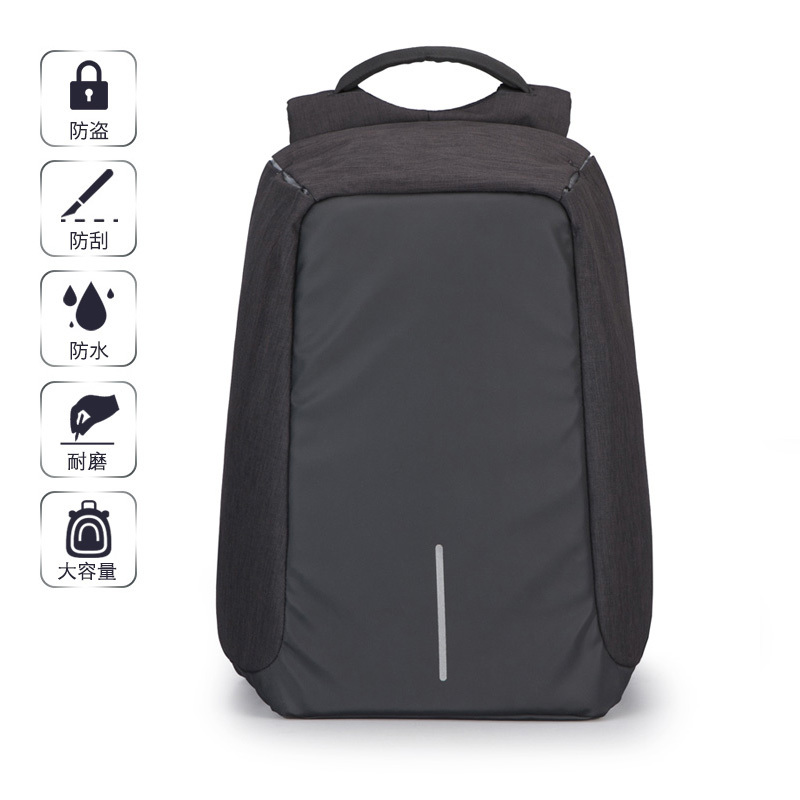 2017 Couple Women Men Backpack 15 Inch Computer Bags Anti Theft Black Grey Oxford Noctilucent Breathable Fabric Strong Fashion рюкзак ucon bryce backpack ss17 black grey