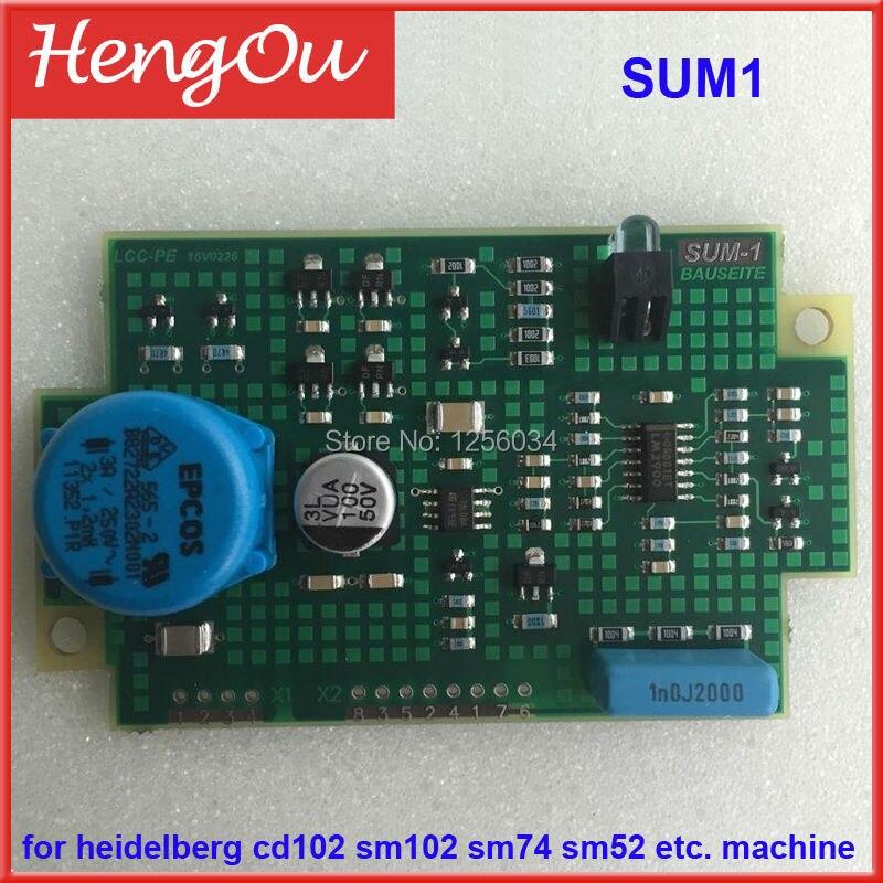 1 piece DHL free shipping high quality 00.781.2336/61.165.1561 SUM1 board for heidelberg SM102 CD102 SM74 PM74 SM52 GTO ETC
