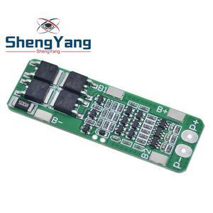 Image 5 - 3S 20A Li ion Pin Lithium 18650 Sạc PCB BMS Ban Bảo Vệ Cho Máy Khoan Động Cơ 12.6V Pin Lipo Tế Bào Mô Đun 64x20x3.4mm