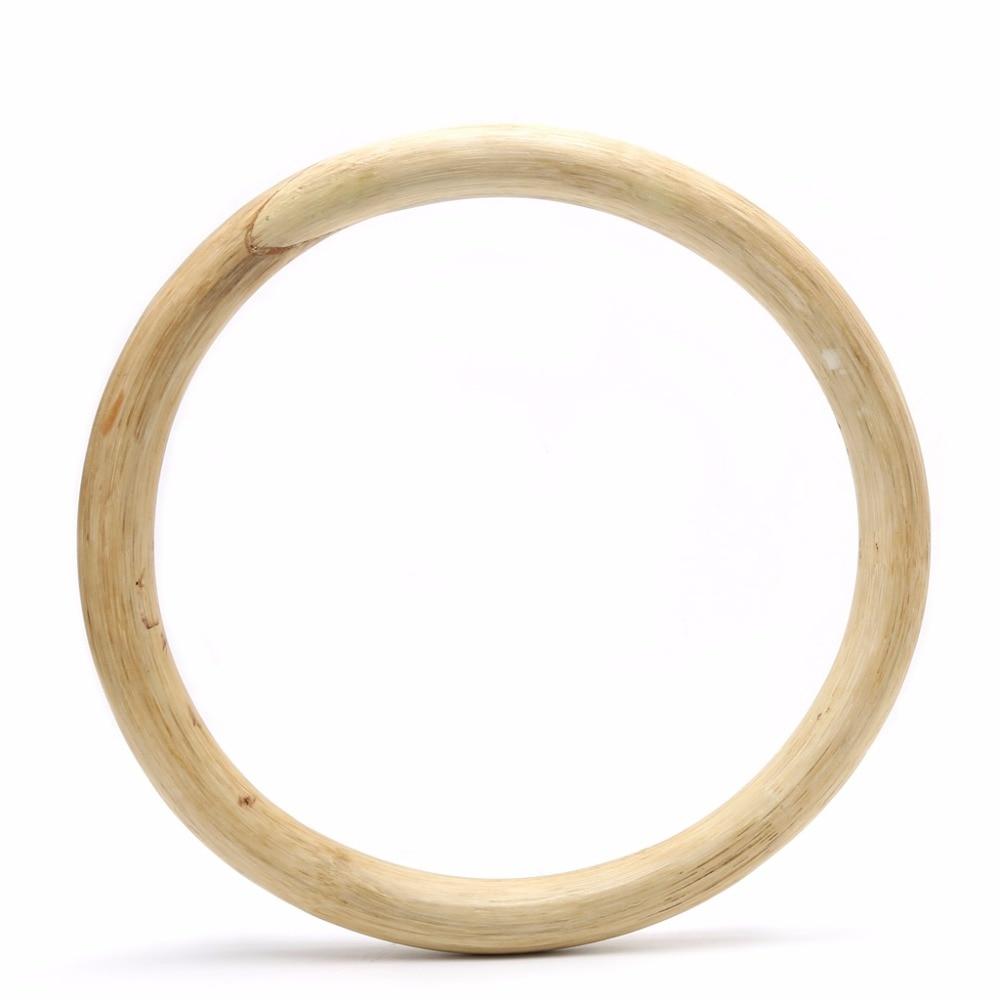 Chinese Kung Fu Wing Chun Hoop Wood Rattan Ring Sticky Hand Strength Training